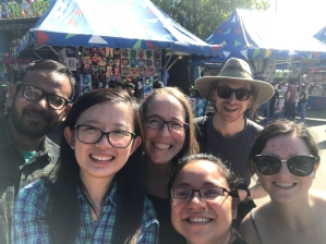 Frederick lab at the Texas State Fair, 2017