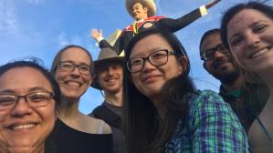 Frederick Lab 2017 with Big Tex