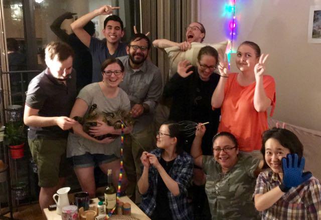 Frederick lab hot pot June 2018