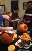 October 2018: Pumpkin carving